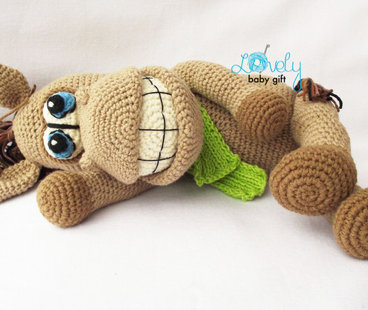 crochet horse amigurumi pattern