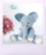 Amigurumi Free Pattern, Free Elephant Crochet Pattern, Haakpatron, Free Crochet Toy Pattern