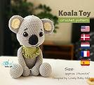 koala toy crochet pattern