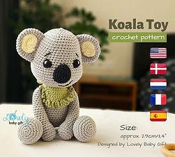 amigurumi koala beginner friendly crochet pattern