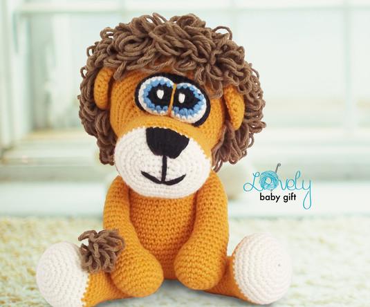 amigurumi lion crochet pattern