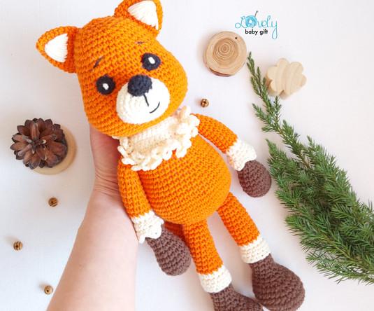 amigurumi fox pattern crochet