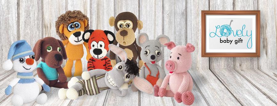 Amigurumi Crochet Patterns, Stuffed Animals Crochet Pattens, Amigurumi Toys Crocet
