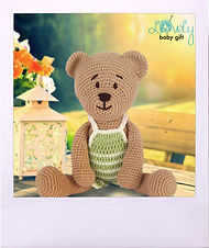 Amigurumi Free Pattern, Teddy Bear with Pants Crochet Pattern