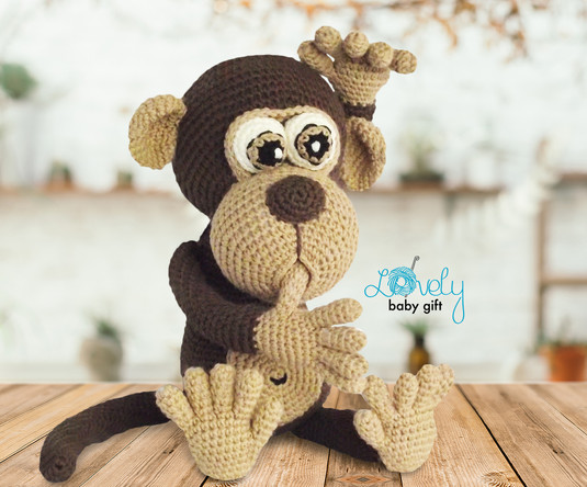 monkey crochet amigurumi pattern