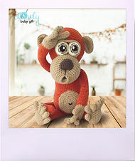 Crochet Monkey Pattern, Amigurumi Pattern