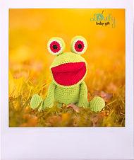 Free Amigurumi Frog Crochet Pattern