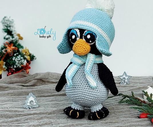 easy crochet pattern to diy penguin toy