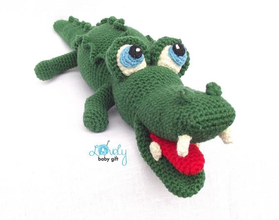 amigurumi alligator crochet pattern