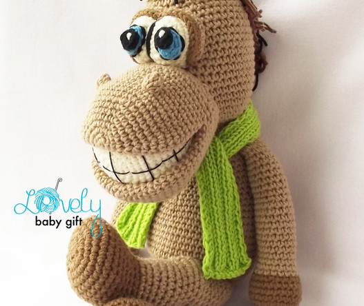 pdf crochet pattern animal