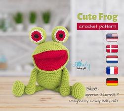 amigurumi frog crochet pattern free