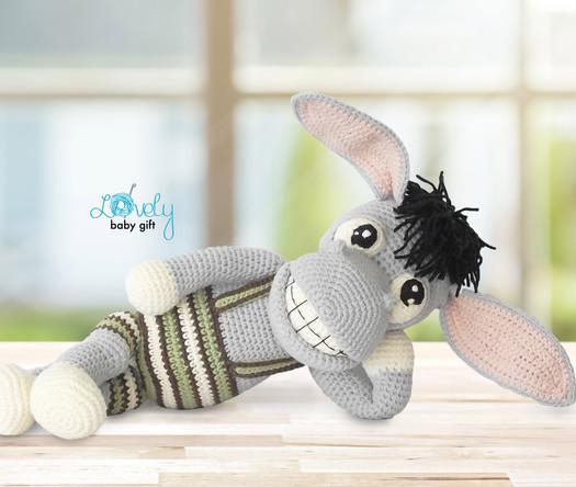 amigurumi farm animal toy crochet pattern