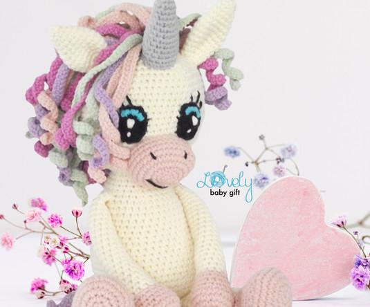 unicorn crochet pattern