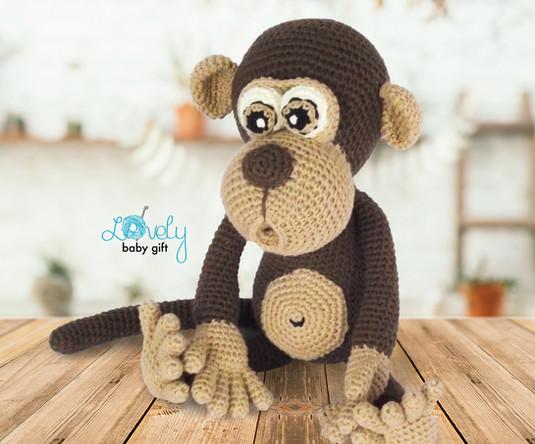 amigurumi monkey crochet pattern