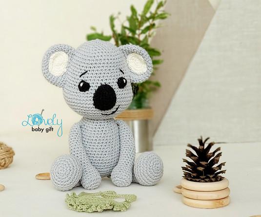easy crochet pattern to make koala bear