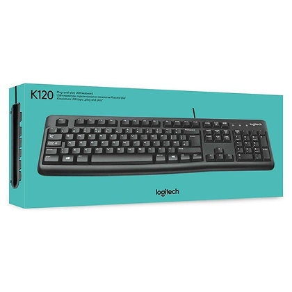 Logitech K 120 Wired Keyboard