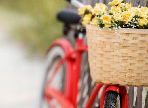 La vida es como andar en bicicleta