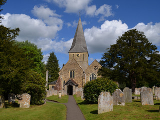 Shere Church 3D Laser Scan