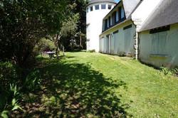 Jardin côté ouest