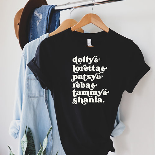 Women of Country Tee