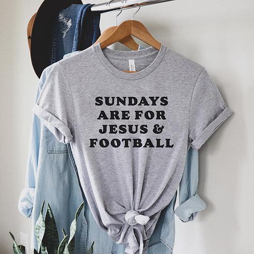 Jesus & Football Tee