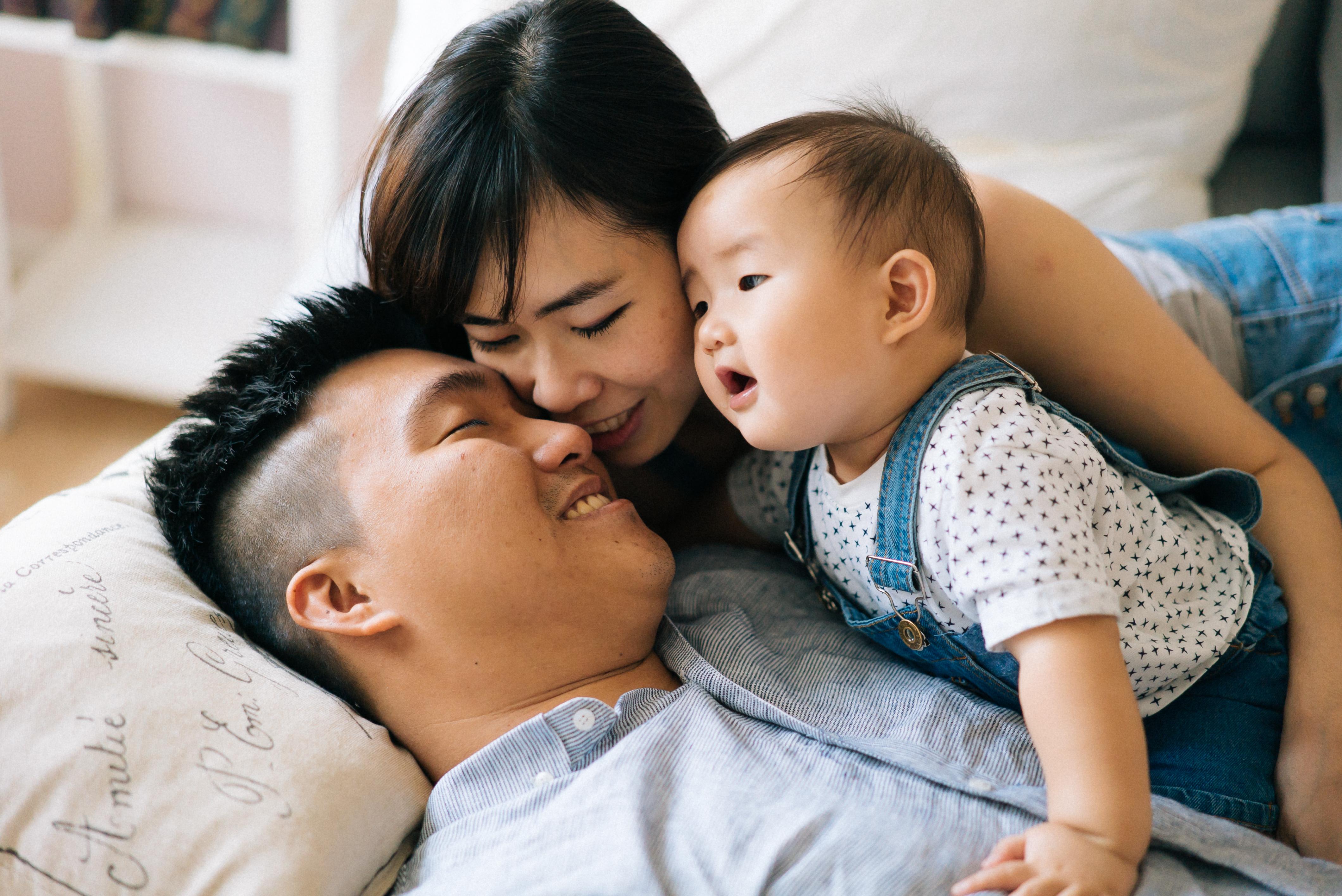 Jay, Hui Sian and Baby Sean-1