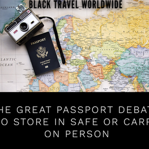 The GREAT Passport Debate: To Store in Safe or Carry On Person!
