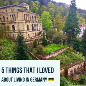 5 Things That I Loved About Living in Germany (Kiera)