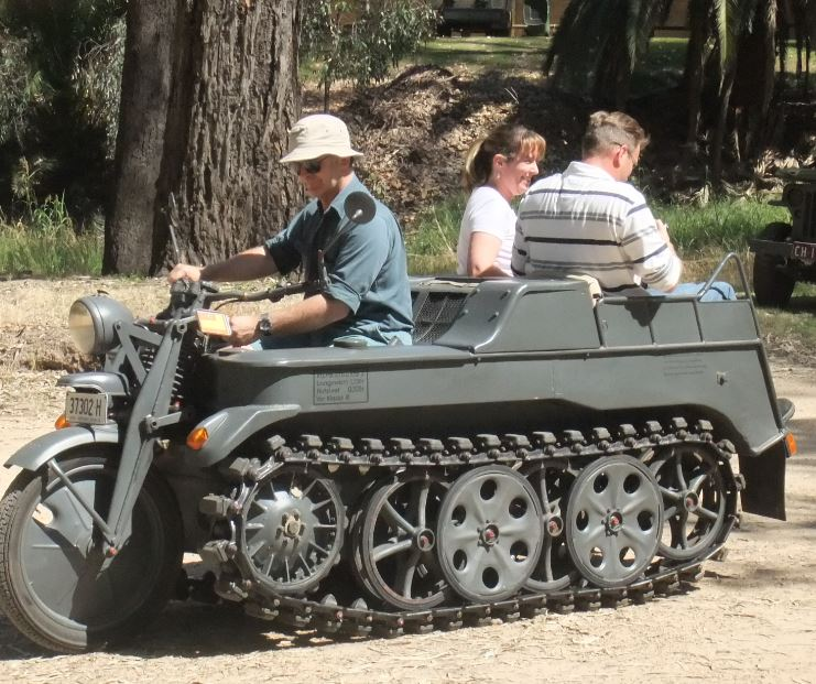 WW2 German Kettenkrad SdKfz42