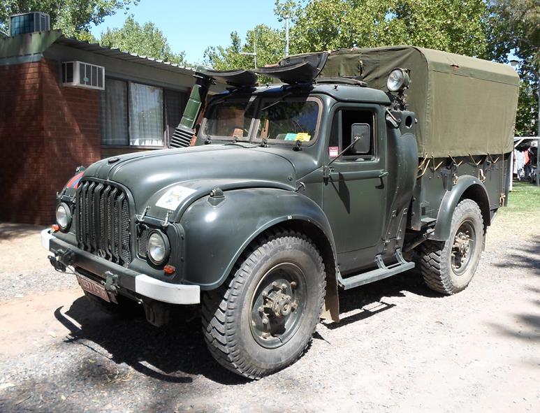 1950s Humber FV1600 1 ton 4x4 truck