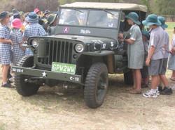 School Visit Corowa 2009