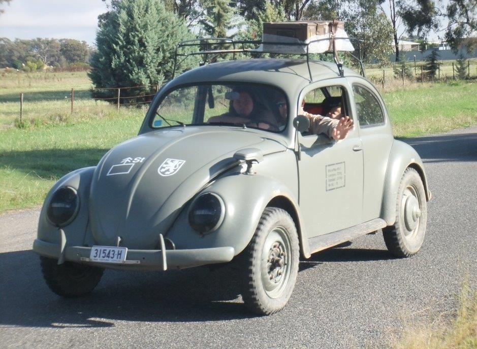 Volkswagen staff car