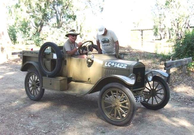 Model T Light Patrol Car