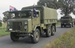 International F1 6x6 truck