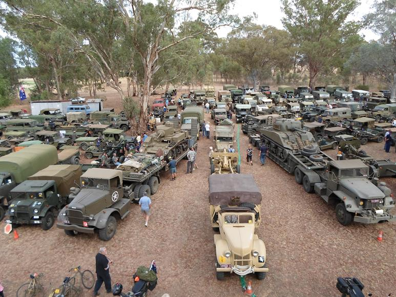 2013 Year of the Trailed Equipment and Armoured Vehicle