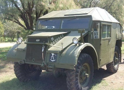 Guy Quad-Ant field artillery tractor