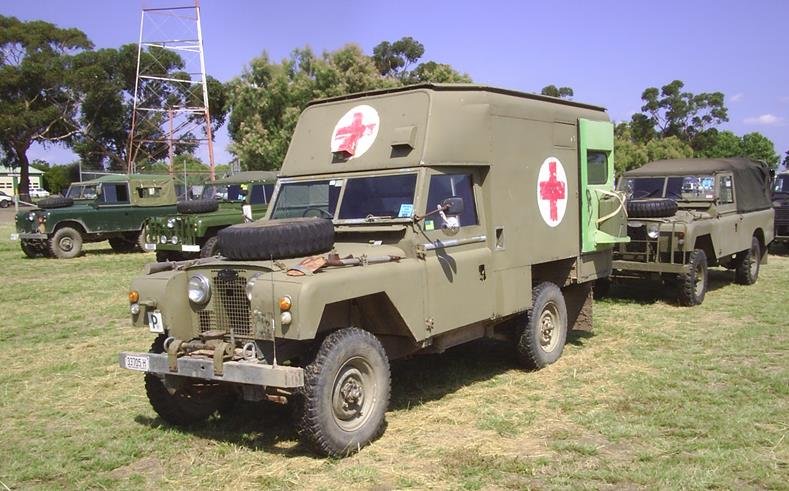 Land Rover S2a Ambulance