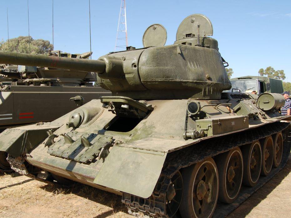 WW2 Soviet T34