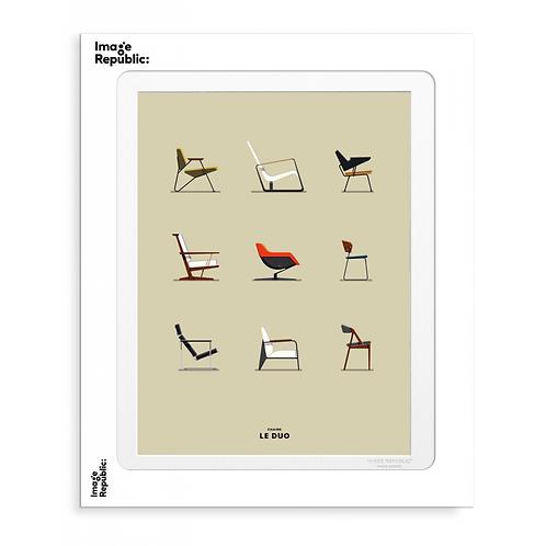 Planche chairs - Le Duo - Image Republic