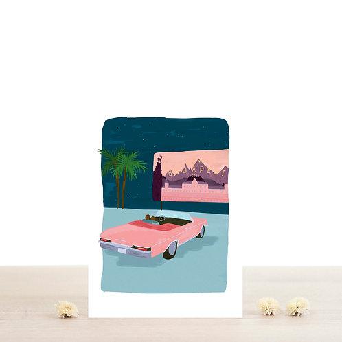 Carte postale Wes - Atelier Bobbie