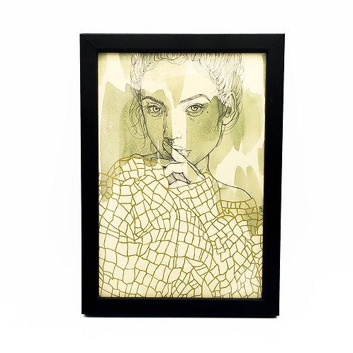 Portrait de femme - Garance Clavel