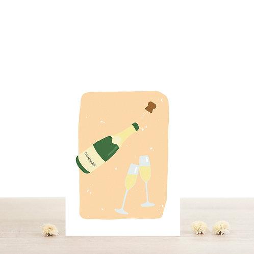Carte postale Eudes -  Atelier Bobbie