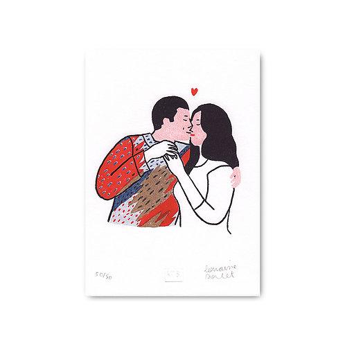 Affiche Lorraine Sorlet - Adam et Paola- 476
