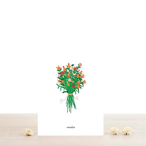 Carte postale Suzanne - Atelier Bobbie