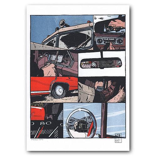 Affiche Lucas Harari - close-up - duel - 476