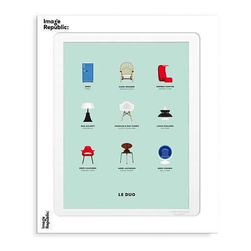 Planche Design - Le Duo - Image Republic