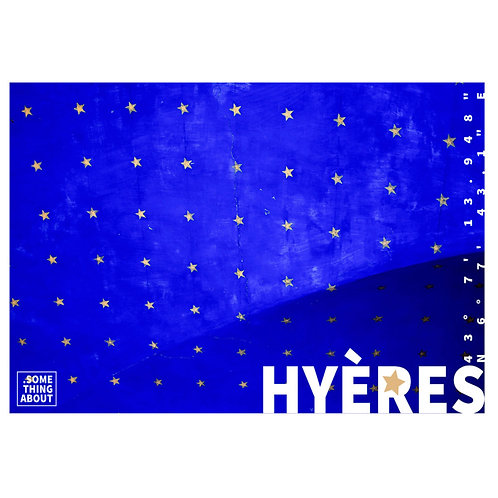 Affiche Hyères - Something About