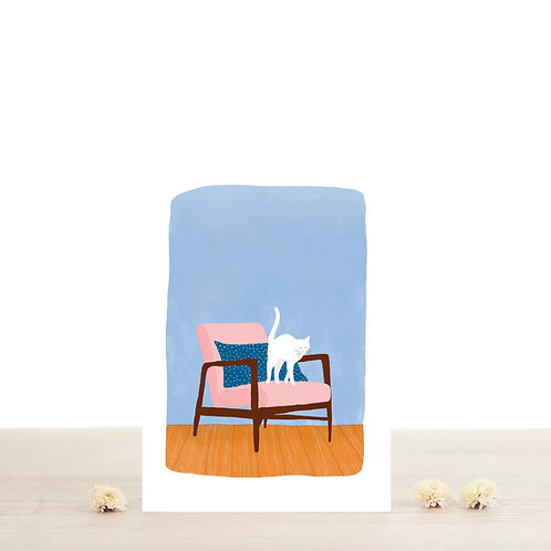 Carte postale Felix -Atelier Bobbie