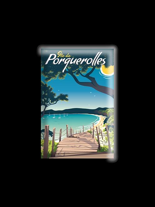 Magnet Porquerolles - Marcel Travel