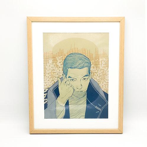Portrait d'homme - Garance Clavel